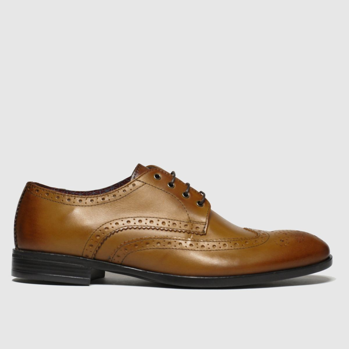 Schuh Tan Brunel Brogue Shoes