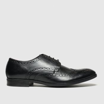 Schuh Black Brunel Brogue Mens Shoes