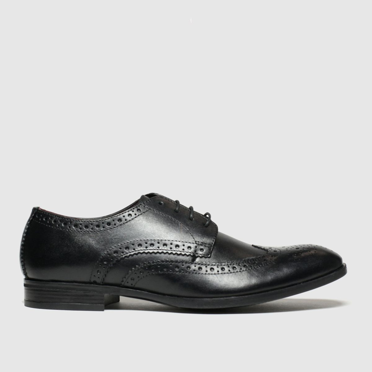 Schuh Black Brunel Brogue Shoes