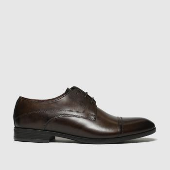 schuh Brown Brunel Cap Mens Shoes