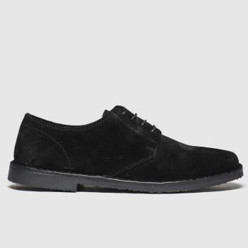 schuh Black Simpson Derby Mens Shoes