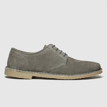 Schuh Grey Simpson Derby Mens Shoes
