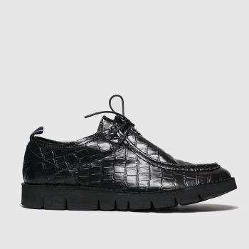 Shoe The Bear Black Milford Croc Mens Shoes