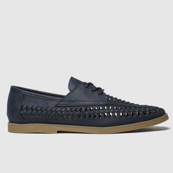 schuh Navy Guapo Mens Shoes