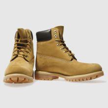 aedcadea552f mens natural timberland 6 inch premium boots