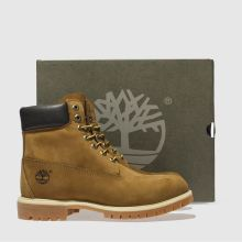 Timberland 6-inch premier brown leather 1