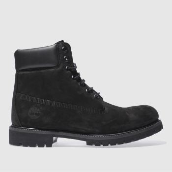 Timberland Black 6 Inch Premium Mens Boots