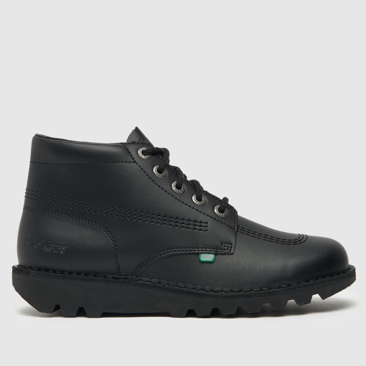 Kickers Black Hi Boots