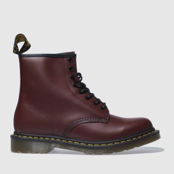 Dr Martens Burgundy 1460 8 Eye Boot Mens Boots#