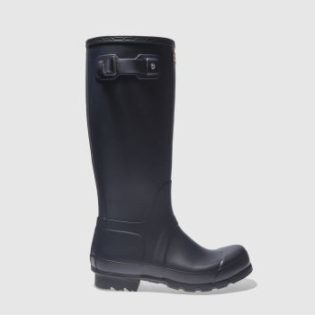 Hunter Navy Original Tall Mens Boots