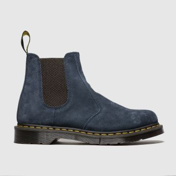 Dr Martens Navy 2976 Suede Chelsea Boot c2namevalue::Mens Boots
