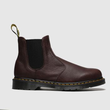 Dr Martens Dark Brown 2976 Ambassador Chelsea c2namevalue::Mens Boots