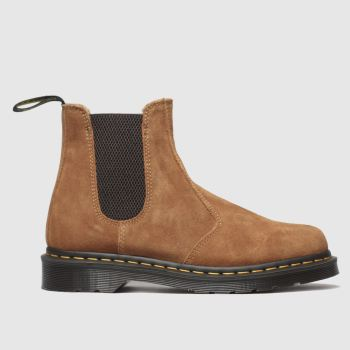 Dr Martens Tan 2976 Suede Chelsea Boot c2namevalue::Mens Boots