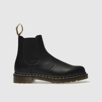 Dr Martens Black 2976 Vegan Chelsea Boot Mens Boots