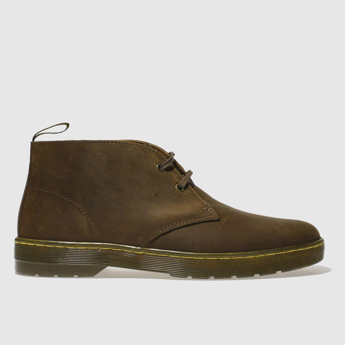 Dr Martens Brown Cabrillo Boots