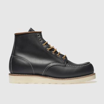 Red Wing Navy 6-Inch Classic Moc Mens Boots