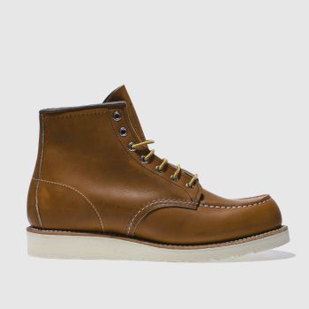 Red Wing Tan 6-inch Classic Moc Mens Boots