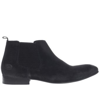 Base London Navy Entrepreneur Chelsea Mens Boots