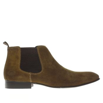 Base London Tan Entrepreneur Chelsea Mens Boots