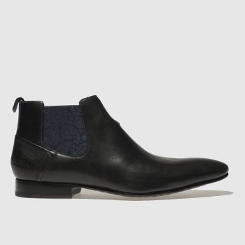 Ted Baker Black Lowpez Mens Boots