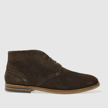 H By Hudson Brown Hallam Chukka 3 Mens Boots