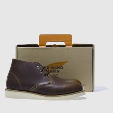 Red Wing 3 tie chukka boot 1