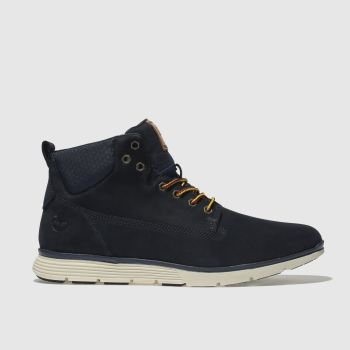 Timberland Navy Killington Chukka Mens Boots
