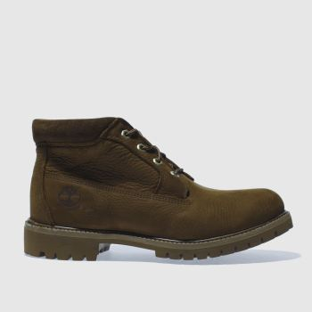 Timberland Dark Brown WATERPROOF CHUKKA Boots