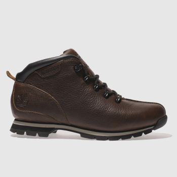 Timberland Brown Splitrock Hiker Mens Boots