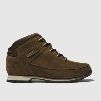 Timberland Brown Euro Sprint Hiker Mens Boots