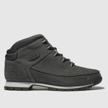 Timberland Dark Grey Euro Sprint Hiker Mens Boots