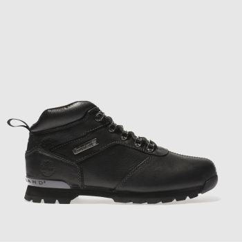 Timberland Black Splitrock 2 Hiker Mens Boots