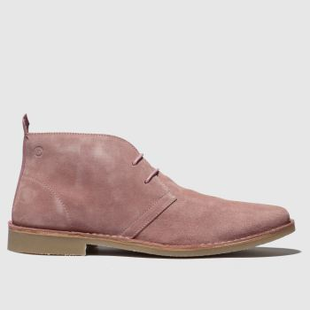 Red Or Dead Pale Pink Mr Lawrence Desert Boot Mens Boots