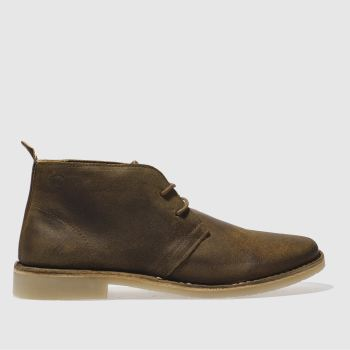 Red Or Dead Brown Mr Lawrence Desert Mens Boots