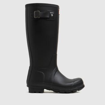 Hunter Black Original Insulated Tall Mens Boots