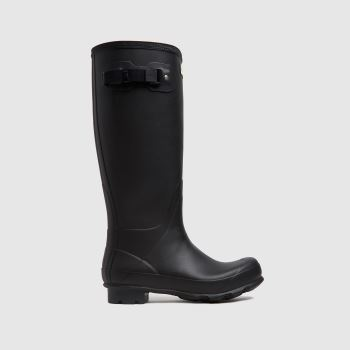 Hunter Black Original Norris Field Boot Mens Boots