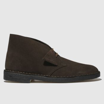 Clarks Originals Brown Desert Mens Boots