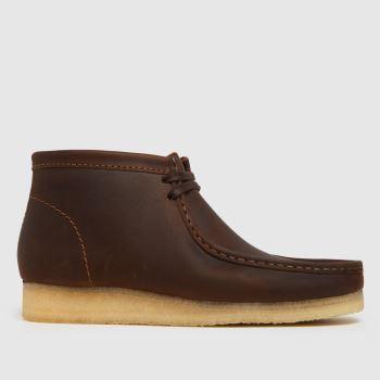 Clarks Originals Brown Wallabee Mens Boots