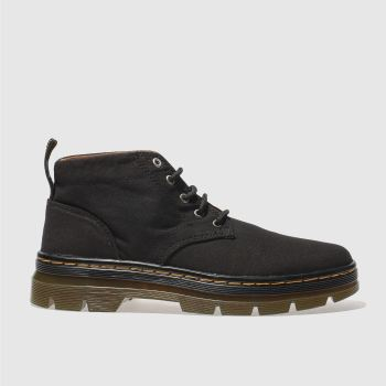 Dr Martens Black Bonny 5 Eye Chukka Mens Boots