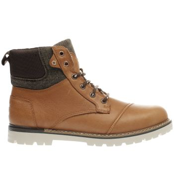 Toms Tan Ashland Mens Boots