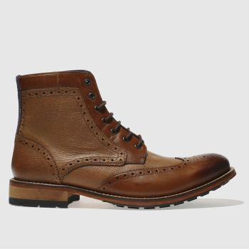 Ted Baker Tan Sealls 3 Mens Boots