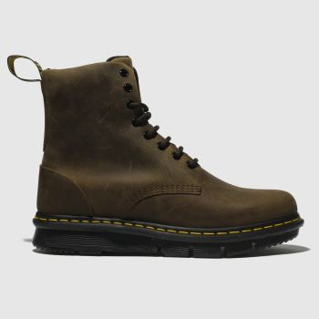 Dr Martens Brown Lexington Mens Boots