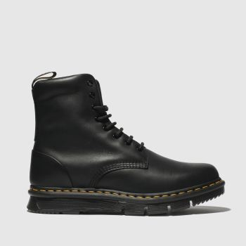 Dr Martens Black Lexington Mens Boots