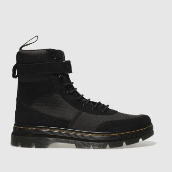 Dr Martens Black Combs Tech Mens Boots