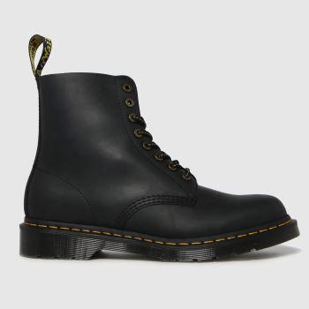 Dr Martens Black 1460 Pascal Wild Buck Mens Boots