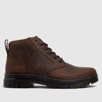 Dr Martens Brown Bonny Leather Mens Boots