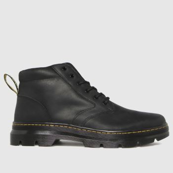 Dr Martens Black Bonny Leather Mens Boots
