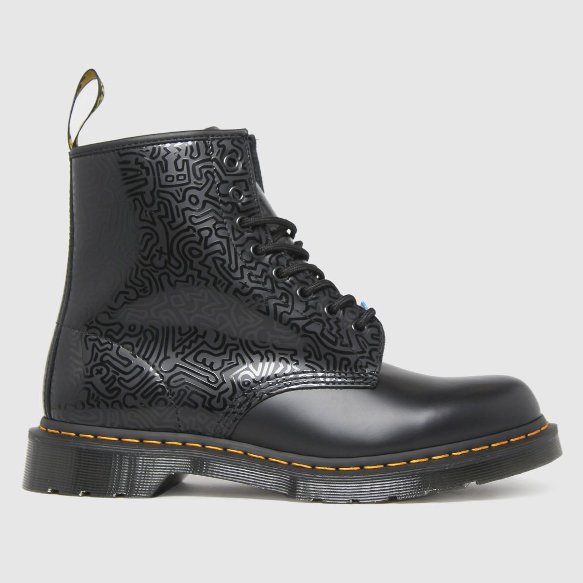 Dr Martens Black 1460 Keith Haring Boots
