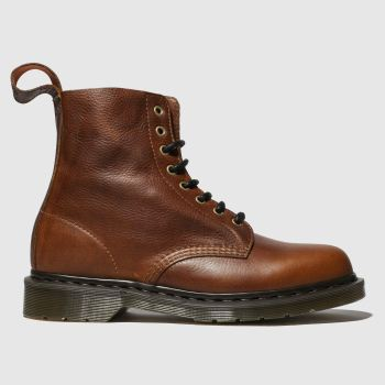 Dr Martens Brown 1460 8 Eye Mens Boots