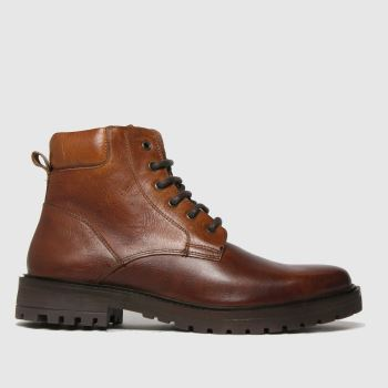 schuh Brown Mason Lace Up Boot Mens Boots